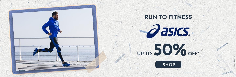 ajio.com - 50% discount on Asics Men's Fashion and Sportswear