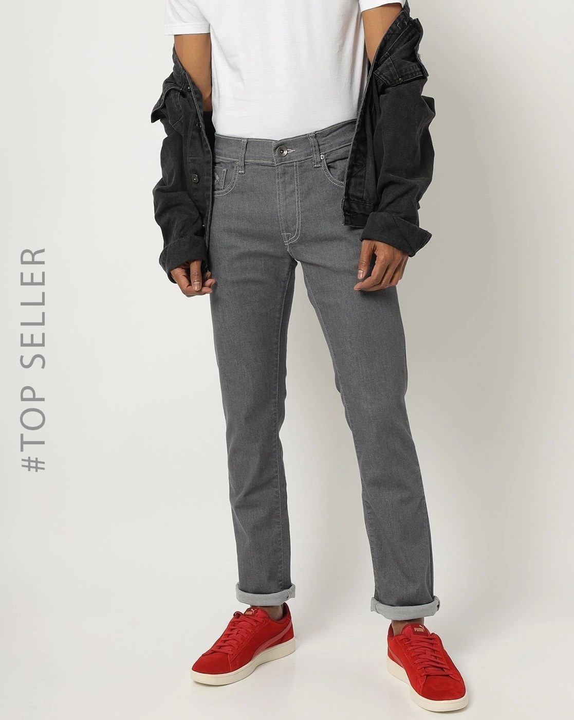 Buy Grey Jeans For Men By Pepe Jeans Online Ajio Com