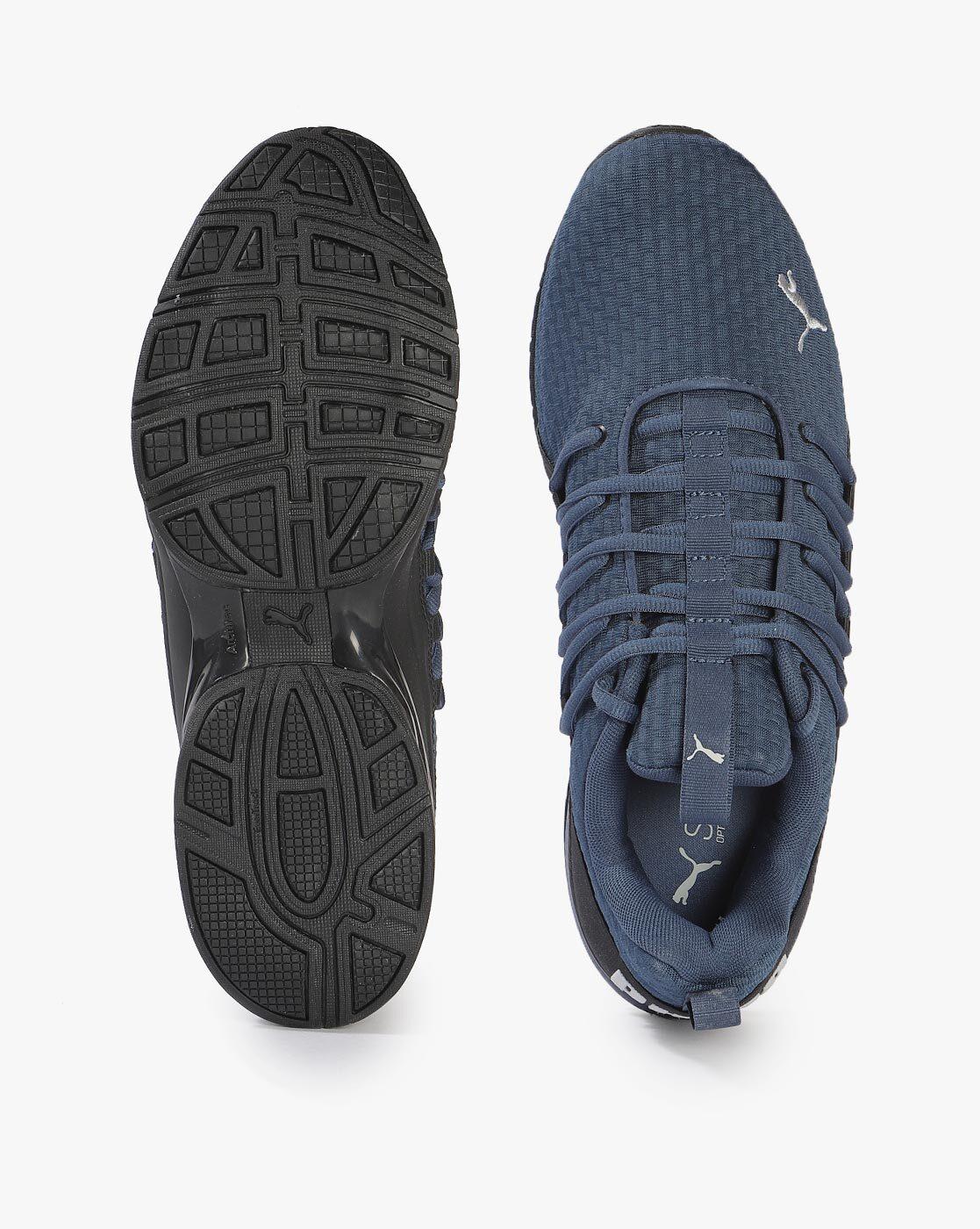 PUMA Axelion Block Ghillie Lace-Up Sports Shoes