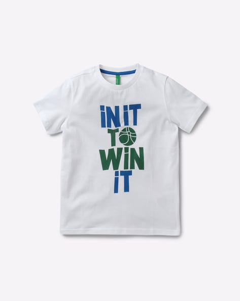 18b1920a Buy White Tshirts for Boys by UNITED COLORS OF BENETTON ...