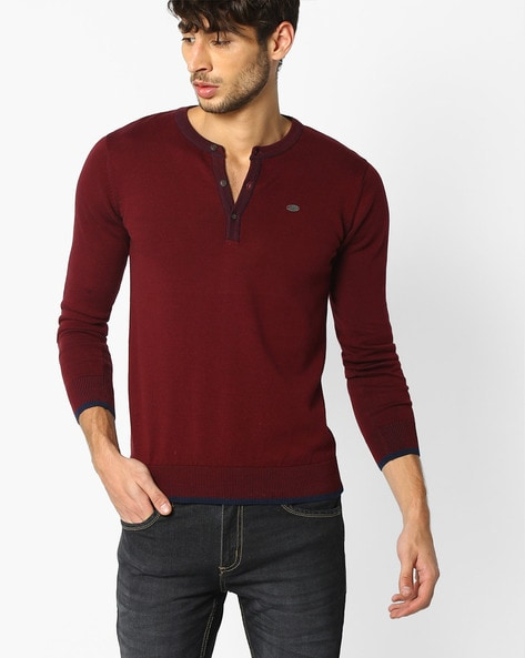 135454081 Buy Maroon Tshirts for Men by NETPLAY Online