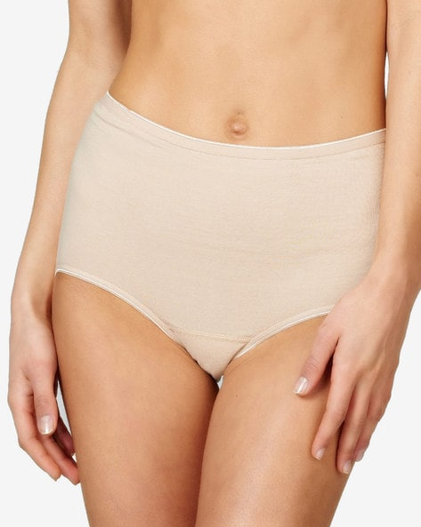 Seamless High-Waist Briefs By Hunkemoller ( Tan )
