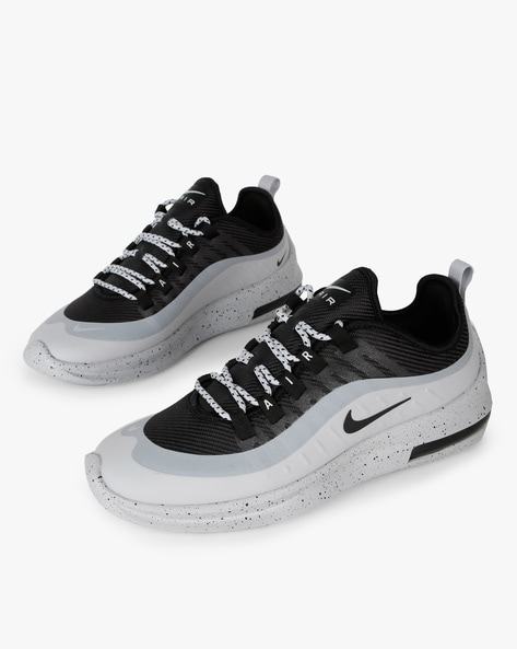 Air Max Axis Perm Lace-Up Shoes With Printed Midsole By NIKE ( Black )
