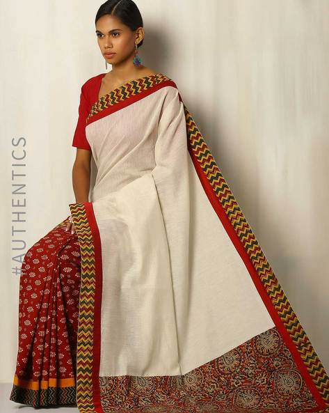 c1568621be942 Buy Multicoloured Sarees for Women by Addoz Online