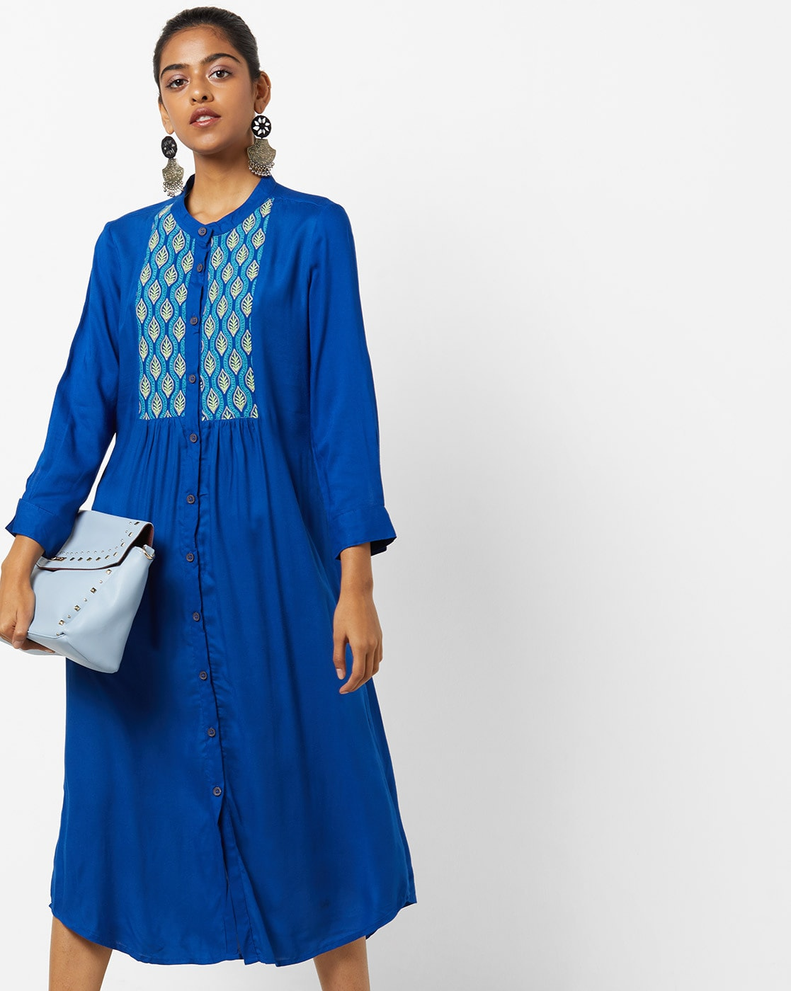 Buy Royal Blue Dresses Gowns For Women By Untung Online Ajio Com