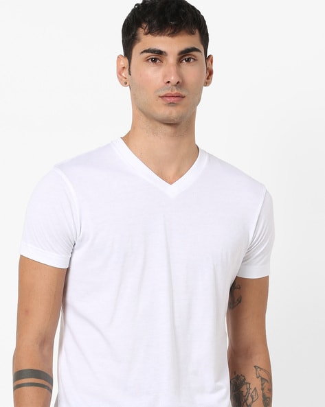 V-neck T-shirt With Short Sleeves By Jockey ( Assorted ) - 440543547001
