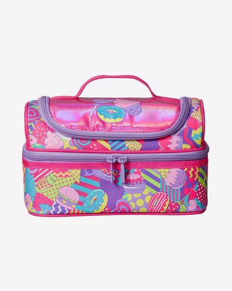 SMIGGLE Ice Cream Print Double Decker Lunchbag