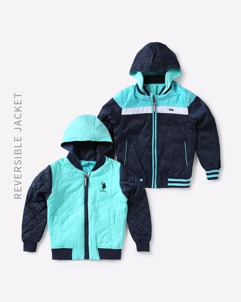 2bb3314f9 Buy Navy Blue Jackets   Coats for Boys by U.S. Polo Assn. Online ...