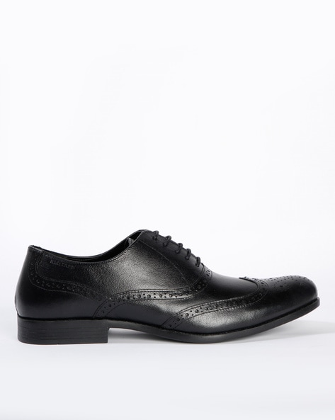 Black Formal Shoes for Men by RED TAPE