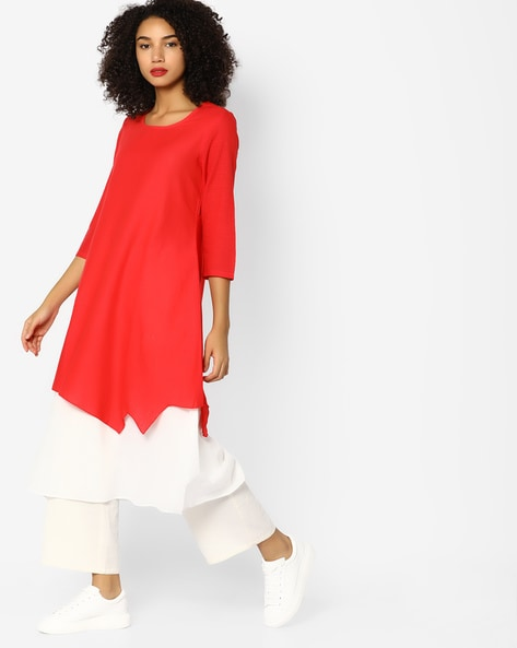 bcc5c69f3 Buy RED Kurtas for Women by Rangmanch by Pantaloons Online