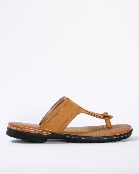 Buy Tan Flip Flop \u0026 Slippers for Men by