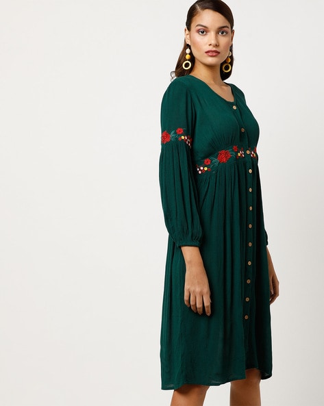 6de8e62e88074 Women's Dresses online. Buy Women's Dresses online in India. – Ajio