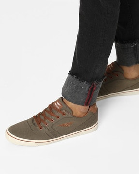 Buy Olive Green Casual Shoes for Men by