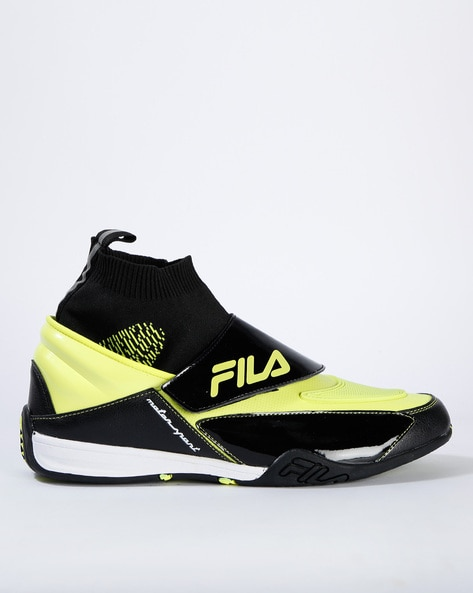 Buy Black Casual Shoes for Men by FILA