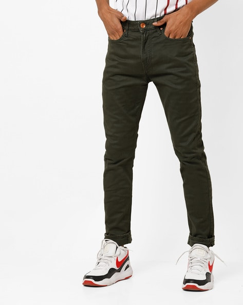 2a2e4d37b73 Brands Olive Green Relaxed Mid-Rise Carrot Fit Jeans. Quick View. UNITED  COLORS OF BENETTON