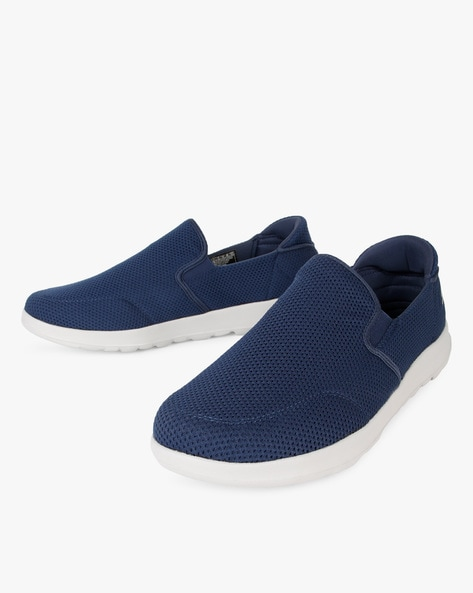 Adapt Ultra Leisure Slip-On Shoes By Skechers ( Navy )