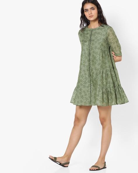 Buy Light Green Dresses & Gowns for Women by AJIO Online | Ajio.com