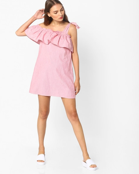 f5f9e713c37 Buy Light Pink Dresses for Women by AJIO Online | Ajio.com