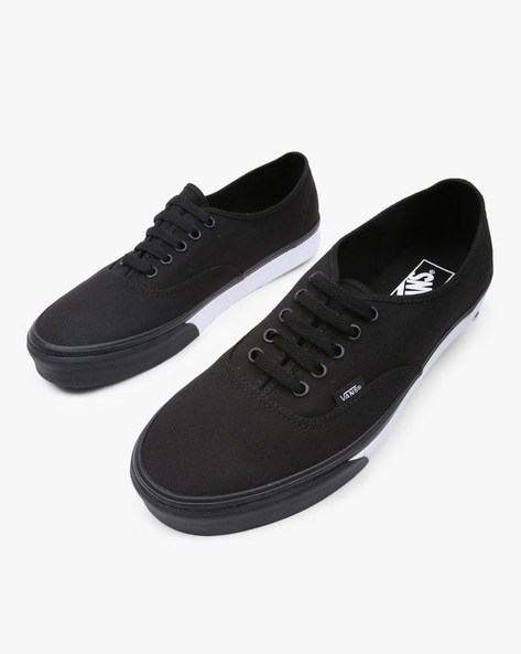 b6f7efad2b40 Brands Black Lace-Ups Authentic Lace-Up Casual Shoes. Quick View. Vans