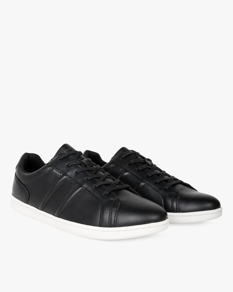 Panelled Sneakers With Perforations By RED TAPE ( Black ) - 460276653003