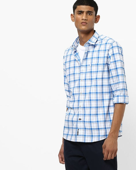 40aeac7fe Men's Shirts online. Buy Men's Shirts online in India. – Ajio
