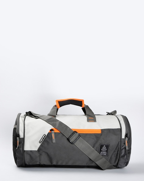 GEAR Panelled Duffel Bag with Carry Handles