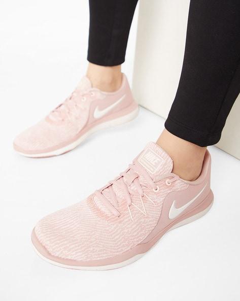 Nike Flex Supreme Tr 6 Mauve Training Shoes for women - Get stylish ... 0b6ad6af5