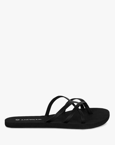 Buy Black Flip Flop   Slippers for Women by AIRWALK Online  de120fc5f0