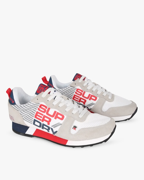 Street Sport Low-Top Sports Shoes By SUPERDRY ( 04c )