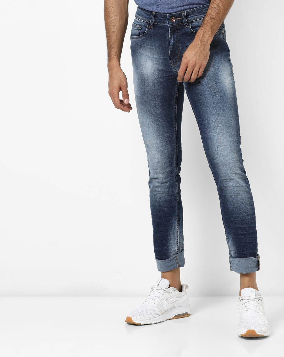 latest selection separation shoes select for official Low-Rise Slim Tapered Fit Jeans