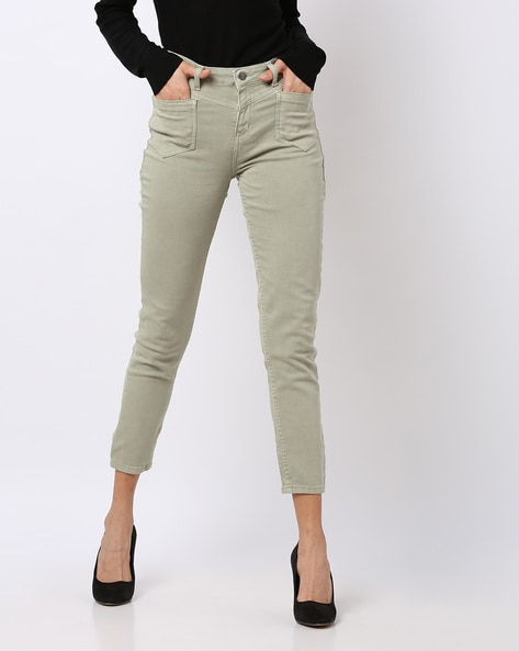 f89a706317 Buy Grey Jeans & Jeggings for Women by AJIO Online | Ajio.com