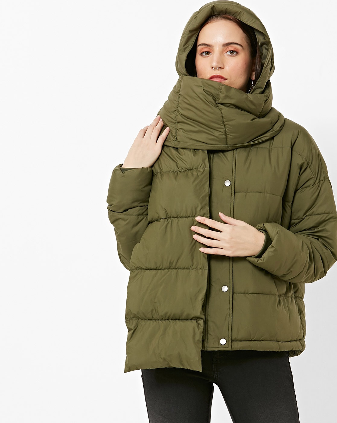 aece025258c6 Buy Olive Green Jackets   Coats for Women by Vero Moda Online ...