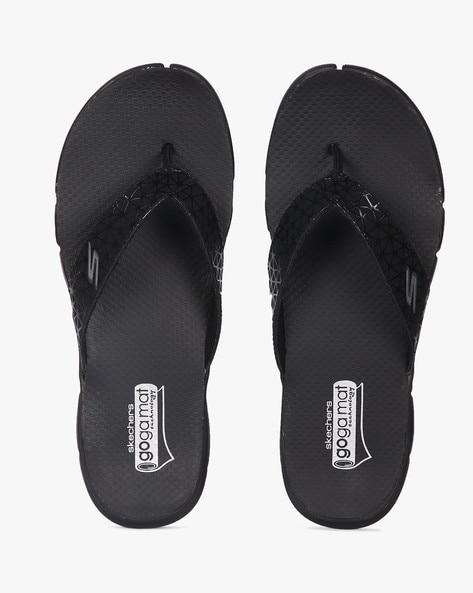 01ce86a3dee9 Buy Black Flip Flop   Slippers for Men by Skechers Online