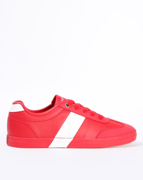 Red Sneakers for Men by UNITED COLORS