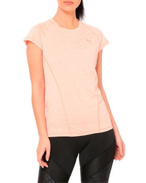 Puma DeLite Panelled Crew Neck T shirt