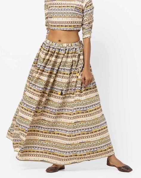 9001235a1 Buy Yellow Skirts & Ghagras for Women by AJIO Online | Ajio.com