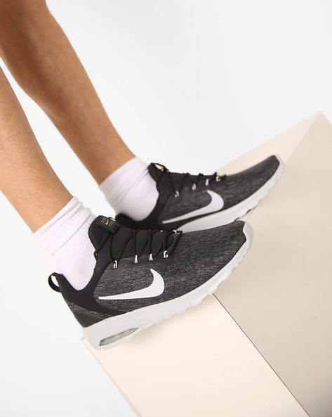 28d5a2fd9a4 Buy Black Sports Shoes for Men by NIKE Online