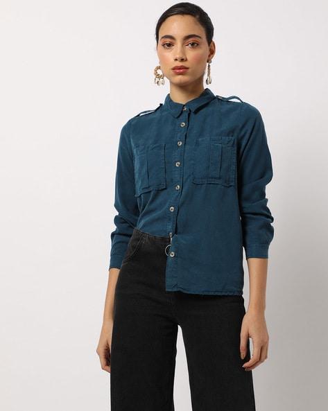 49b7322b9 Women's Shirts online. Buy Women's Shirts online in India. – Ajio