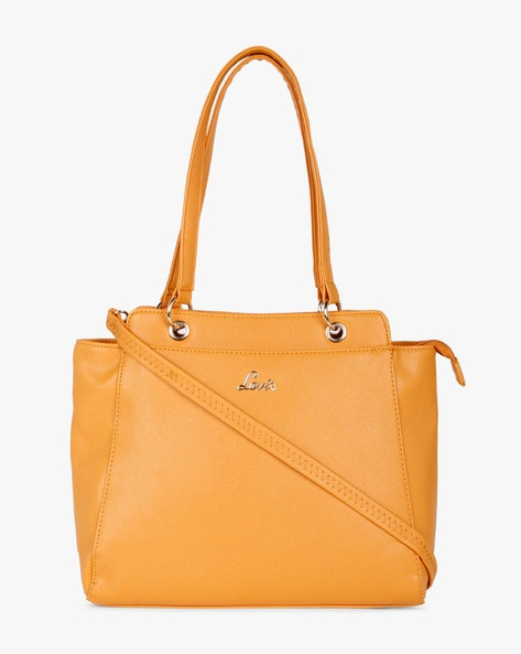 Jubjub Tote Bag With Sling Strap By Lavie ( Yellow )