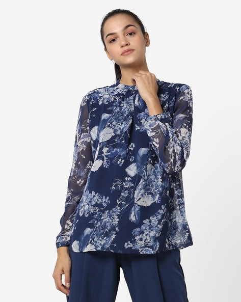 ebad4548a44 Buy Blue Tops for Women by AND Online | Ajio.com