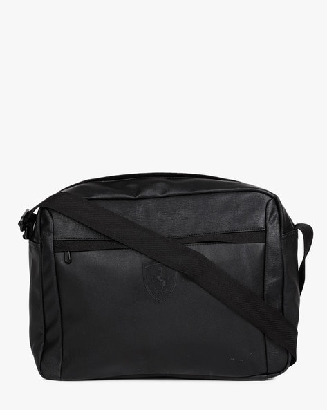 Ferrari LS Reporter Sling Bag By Puma ( Black )