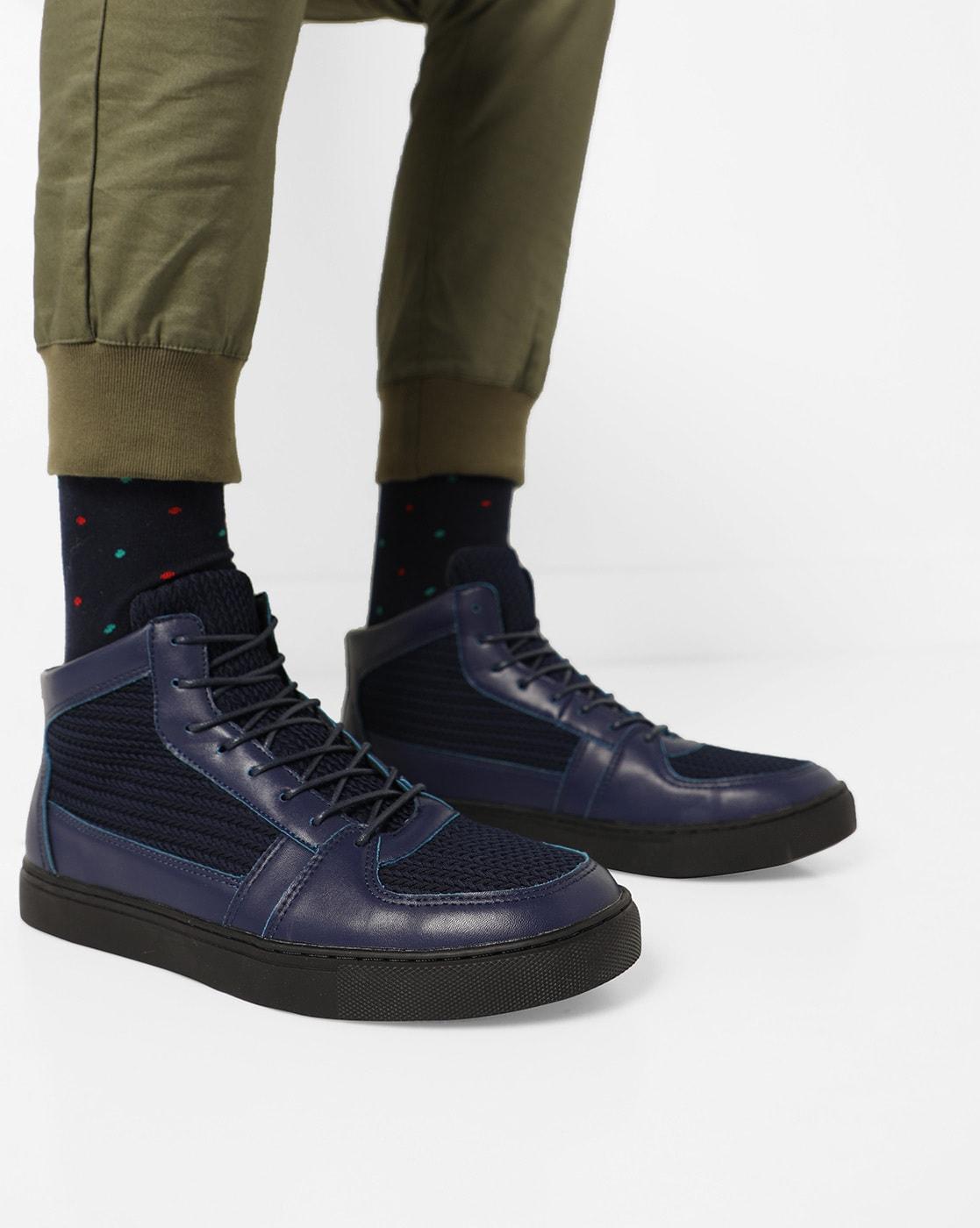 Buy Blue Sneakers for Men by AJIO