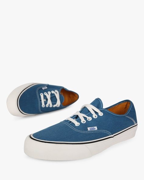 Authentic SF Lace-Up Casual Shoes By Vans ( Blue )