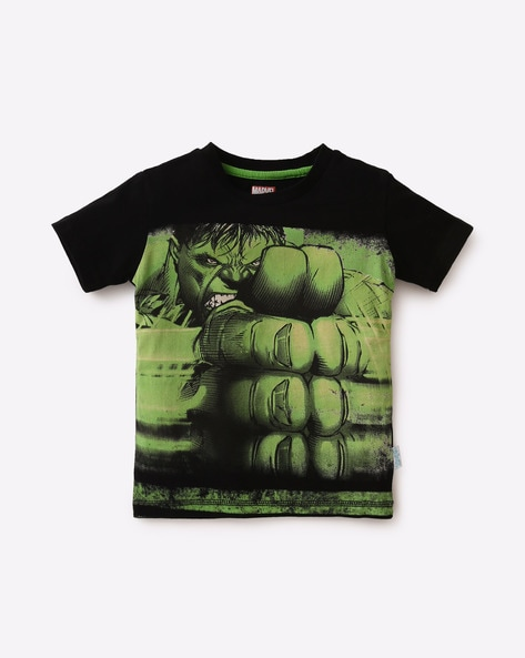 dc5eee81 Buy Black Tshirts for Boys by KIDSVILLE Online | Ajio.com