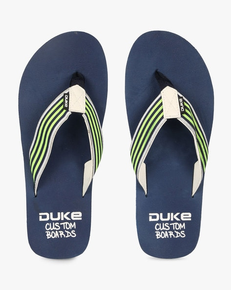 4543d9ba7 ... Flip-Flops with Striped Thong-Style Straps. Previous