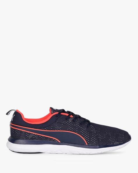 Flex Camo Mesh IDP Sports Shoes By Puma ( Navyblue )