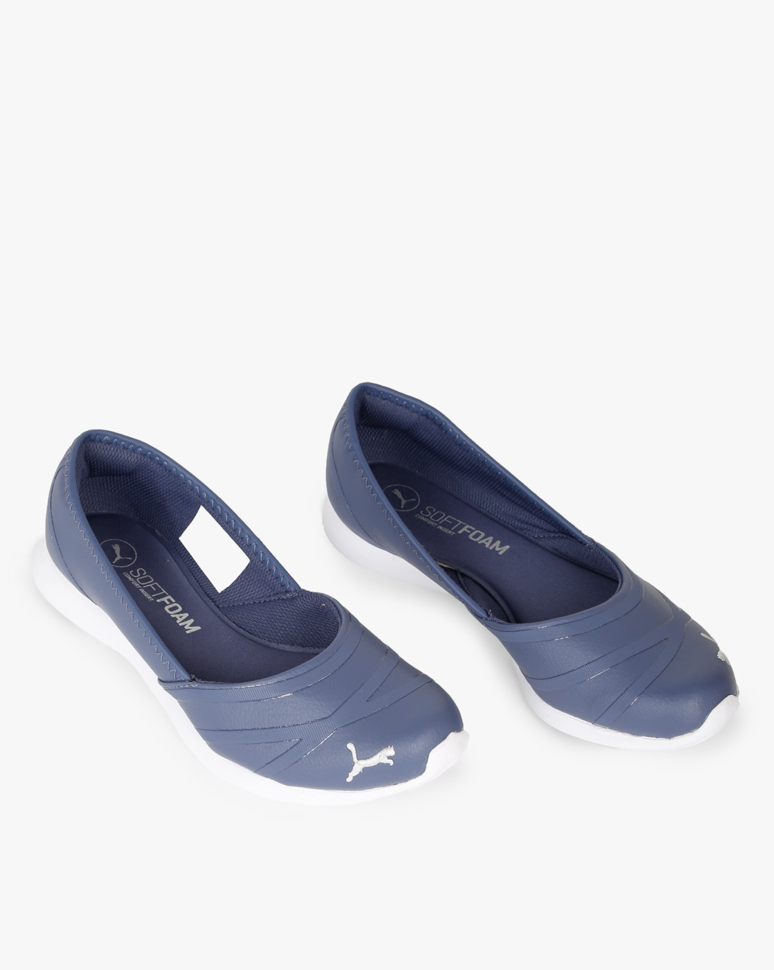 Buy Blue Flat Shoes for Women by Puma