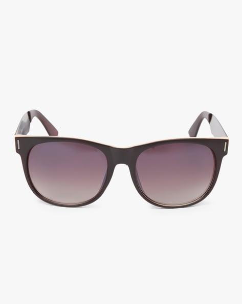 UV-Protected Wayfarer Sunglasses By Joe Black ( Brown )