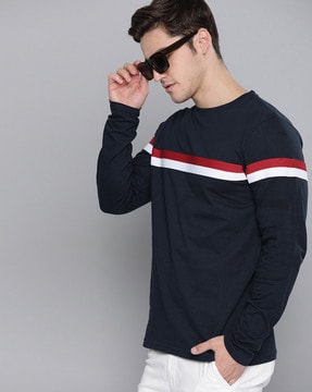 Buy Navy Blue Tshirts for Men by DILLINGER Online | Ajio.com