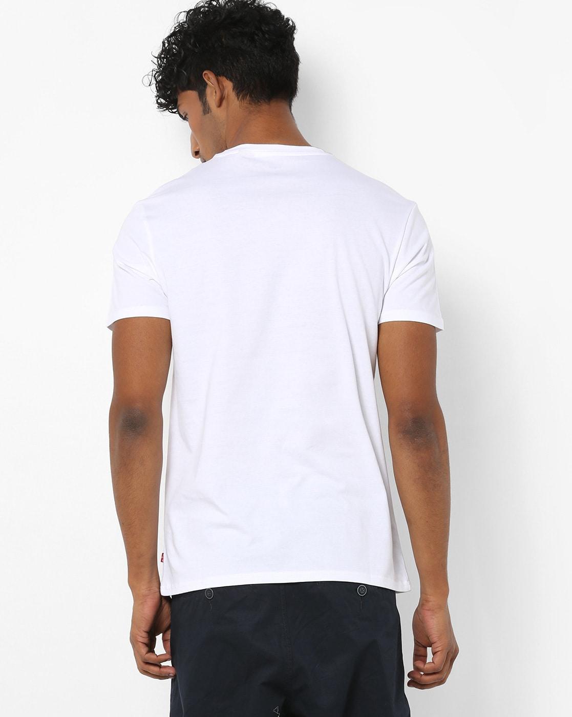 2ffd5f007 Buy White Tshirts for Men by LEVIS Online | Ajio.com